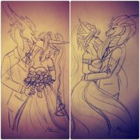 Just Married by KarneTia