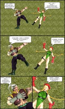 Cammy X Nash: After TWO HOURS of training... by El-Rockero