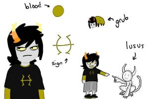 Fantroll and lusus (Draw/write to adopt) - Closed by ISZK-tv