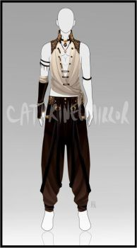 C: Outfit for Empira by cathrine6mirror