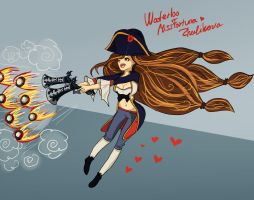 Waterloo Miss Fortune by zhulikova