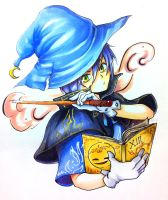 Blue Magician by Hei-Chan