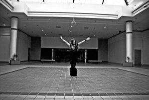 Emptiness of the Mall by Valentine-Photo