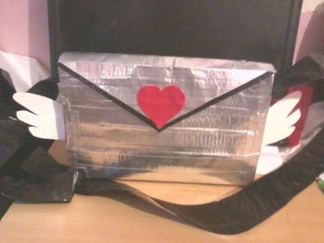 Duck Tape Messenger FINISHED. by BunnyQu33n