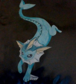 Vaporeon by demyx4ever