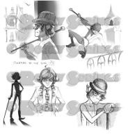 Alex: initial sketches by rockysprings
