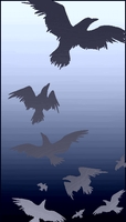 Crows by iPhysik