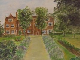 Eastbury Manor House by StevenARTify