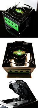 custom Gauntlet dark legacy gamecube by Zoki64