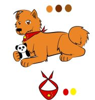 Hetalia Dogs- China by zybynarx