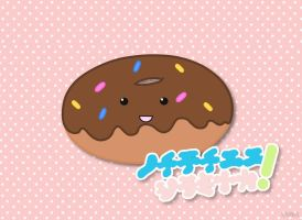 Kawaii Donut. by 13Cookie