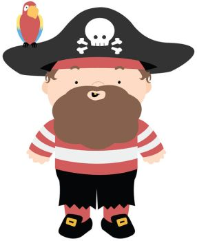 Waldo the Pirate by therainechild