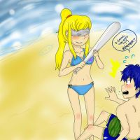 Summer Time Scares by ikesamusmarthpeach