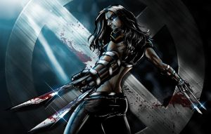 X-23 Coloured by NineteenPSG