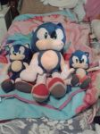 Sonic the Hedgehog Plushies by Celeste-the-Cat