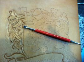 COA Tooling 4 by Blackthornleather