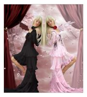 Chobits by cryingsorceress