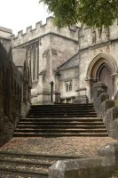 Church steps, Frome by IconicJohn