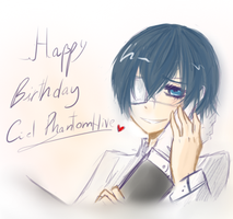Happy B.day Ciel Phantomhive by Shinu-Ookami