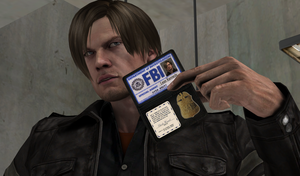 Leon FBI Badge (Re-make) by bstylez