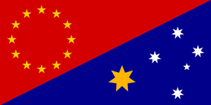 Asia-Pacific Union Flag by CyberPhoenix001
