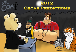 Mr. Coat 2012 Oscar Predictions Title Card by Slasher12