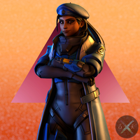 Ana Portrait by SFM-ShatteredKnives