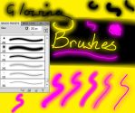 Glowing Brush Set by Weatbix