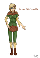 Cast 1: Rena D'Alberville by Hitotsumami