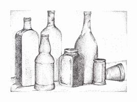 bottles by piratewench831