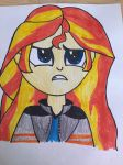 Sunset Shimmer (MLP) by derpy3lover