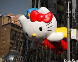 Hello Flying Kitty by B-ro