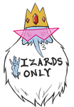 Ice King: Wizards Only by ThatReallyWeirdGirl