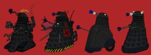 Evolution of the Daleks by Rassilon001