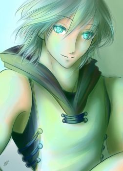 Commission: Kingdom Hearts- Riku by Berichan