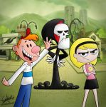 The teenage adventures of Billy and Mandy by celesteyupi