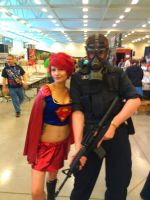 NF Comicon : Me and Superwomen by TheWarRises