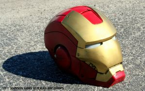 Iron Man Helmet Replica by JohnsonArms