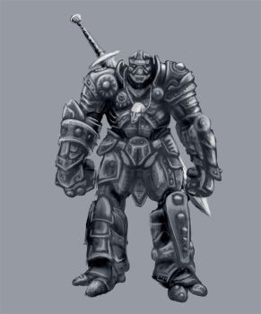 Jack the Warforged by Psiondoodler