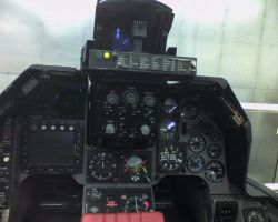F-16A Block 5 cockpit by kaasjager