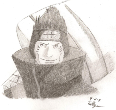 Kisame by Bluespottedfire