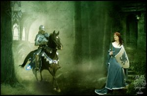 When the Knight Comes by Everild-Wolfden