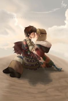 Hot Date. Hiccup and Astrid by lightskin