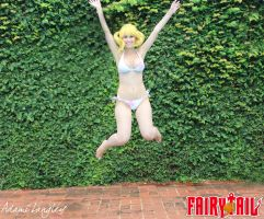 Lucy Heartfilia Bikini Cosplay by adami-langley