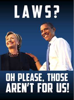 Laws?  Oh Please, Those Aren't For Us! by CaciqueCaribe