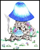 Shroom by funeral-portrait