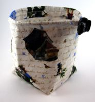 Pinocchio Cottage Dice Bag by Isilian