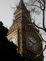 London: B.B. Clock Tower by Stathis