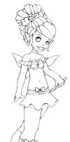 What if Tink... 2 -lineart- by Kawaru