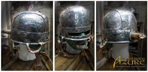 The Goblin Cauldron Helm by ArtisansdAzure